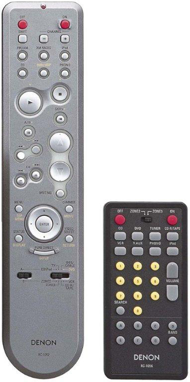 Included Remote Controls